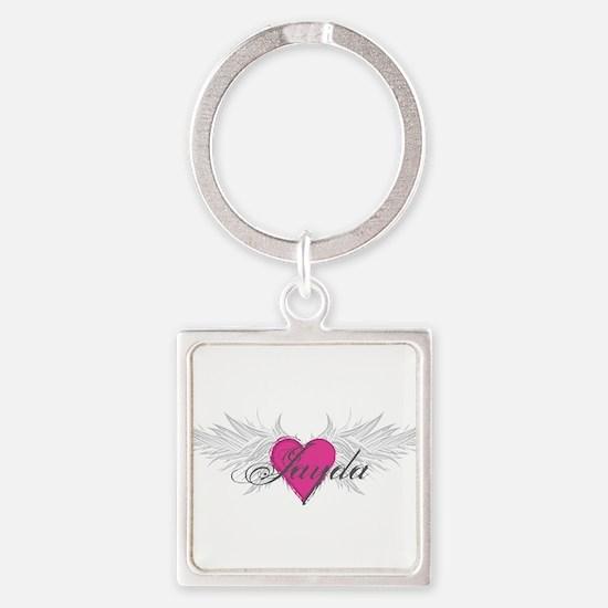 My Sweet Angel Jayda Square Keychain