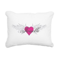 My Sweet Angel Janelle Rectangular Canvas Pillow
