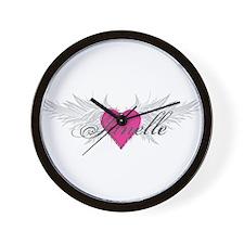 My Sweet Angel Janelle Wall Clock