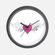 My Sweet Angel Janelle Wall Clock