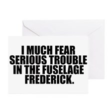 Fuselage Frederick Greeting Cards (Pk of 10)