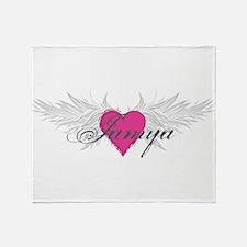 My Sweet Angel Jamya Throw Blanket