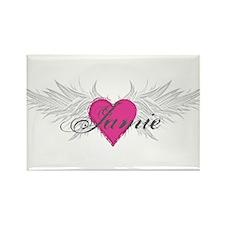 My Sweet Angel Jamie Rectangle Magnet