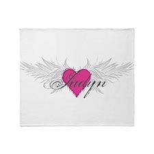 My Sweet Angel Jadyn Throw Blanket