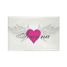 My Sweet Angel Ivanna Rectangle Magnet