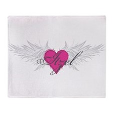 My Sweet Angel Itzel Throw Blanket