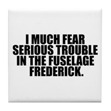 Fuselage Frederick Tile Coaster