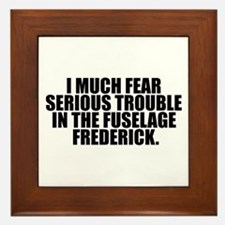 Fuselage Frederick Framed Tile
