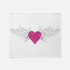 My Sweet Angel Isis Throw Blanket