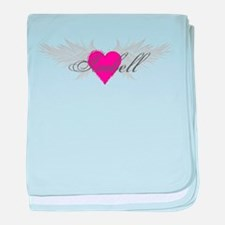 My Sweet Angel Isabell baby blanket