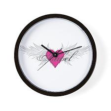 My Sweet Angel Isabel Wall Clock
