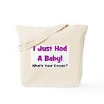 I Just Had A Baby! Tote Bag