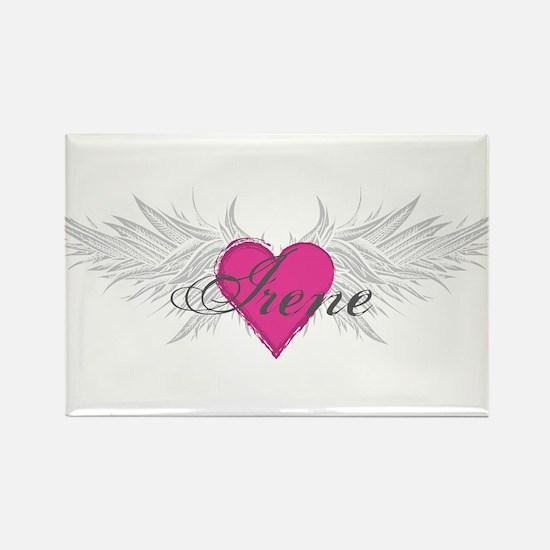 My Sweet Angel Irene Rectangle Magnet