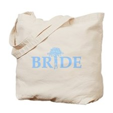 Bouquet Bride Tote Bag
