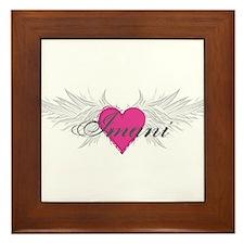 My Sweet Angel Imani Framed Tile