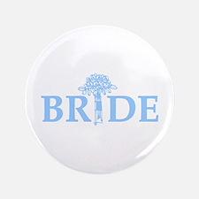 """Bouquet Bride 3.5"""" Button"""