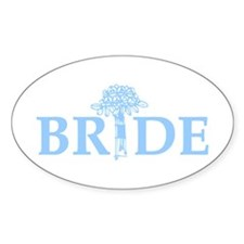 Bouquet Bride Decal