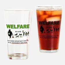 WELFARE Drinking Glass