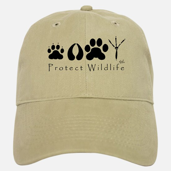 Protect Wildlife Baseball Baseball Cap