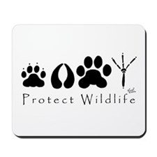 Protect Wildlife Mousepad