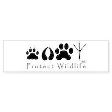 Protect Wildlife Bumper Bumper Sticker