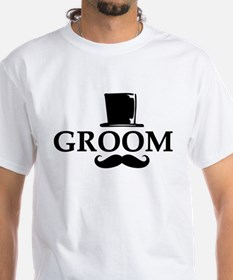 Mustache Groom Shirt
