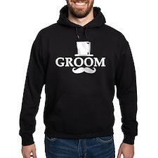 Mustache Groom Hoodie
