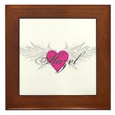 My Sweet Angel Hazel Framed Tile