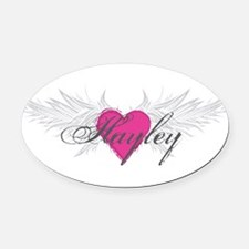 My Sweet Angel Hayley Oval Car Magnet