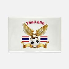 Thailand Football Design Rectangle Magnet