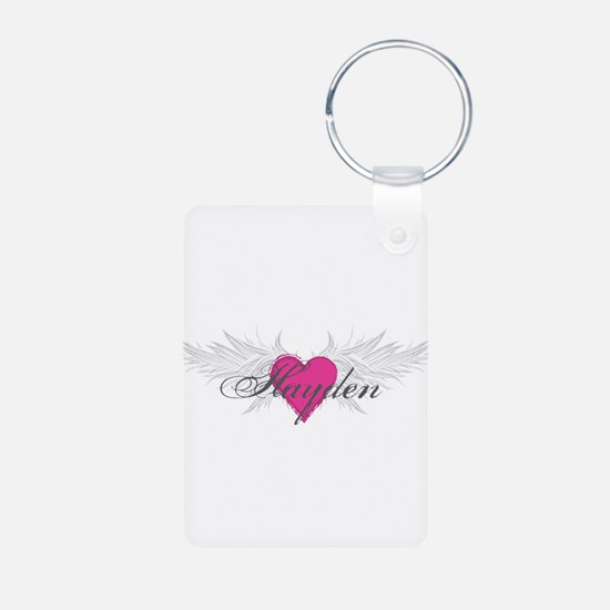 My Sweet Angel Hayden Aluminum Photo Keychain