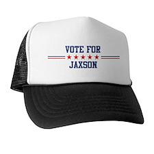 Vote for JAXSON Trucker Hat