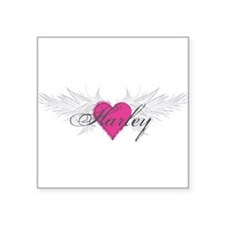 "My Sweet Angel Harley Square Sticker 3"" x 3"""
