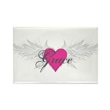 My Sweet Angel Grace Rectangle Magnet (10 pack)