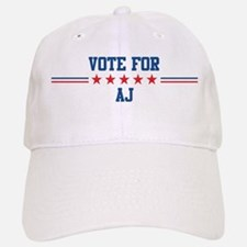 Vote for AJ Baseball Baseball Cap