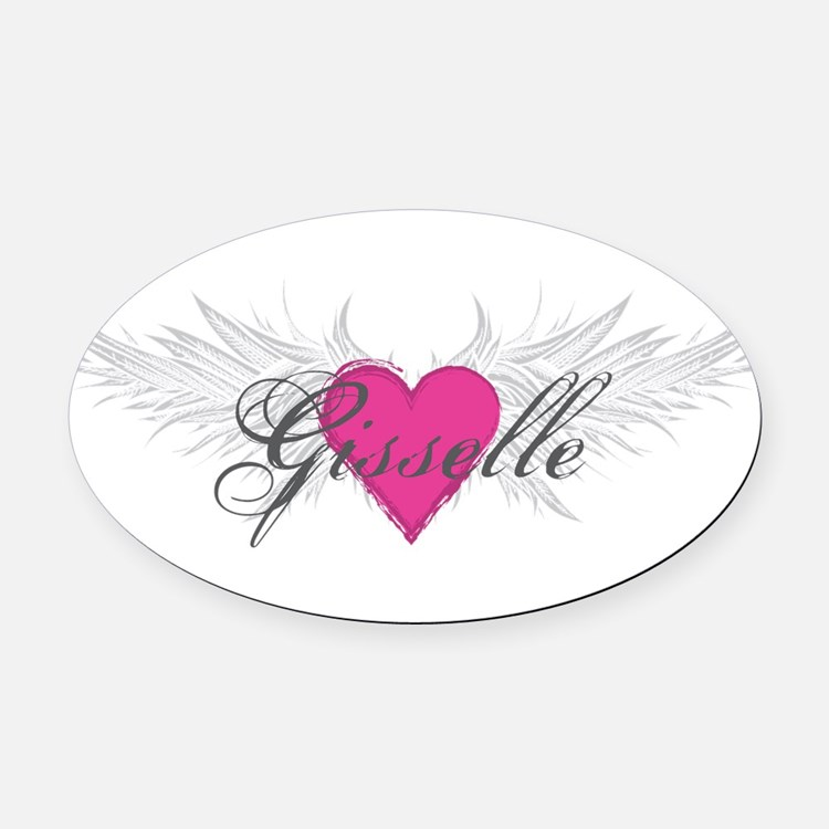 My Sweet Angel Gisselle Oval Car Magnet