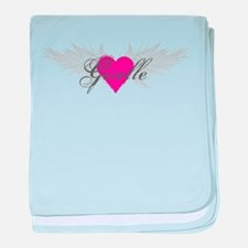 My Sweet Angel Giselle baby blanket