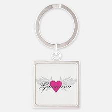 My Sweet Angel Giovanna Square Keychain