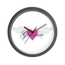 My Sweet Angel Gianna Wall Clock