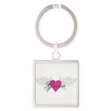 My Sweet Angel Giana Square Keychain