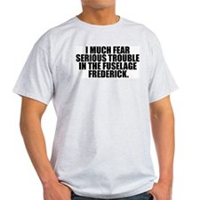 Fuselage Frederick Ash Grey T-Shirt