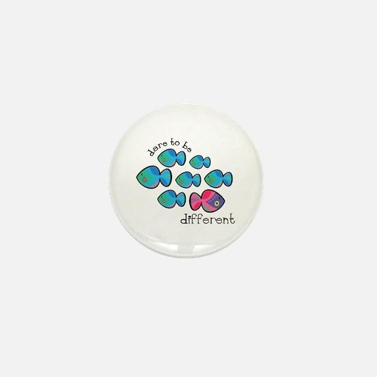 Dare To Be Different Mini Button