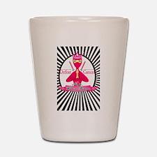 Defeat Cancer Shot Glass