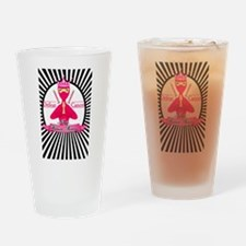 Defeat Cancer Drinking Glass