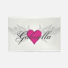 My Sweet Angel Gabriella Rectangle Magnet