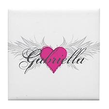My Sweet Angel Gabriella Tile Coaster