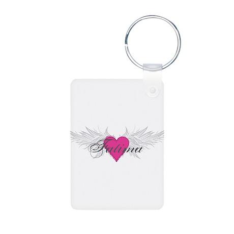 My Sweet Angel Fatima Aluminum Photo Keychain
