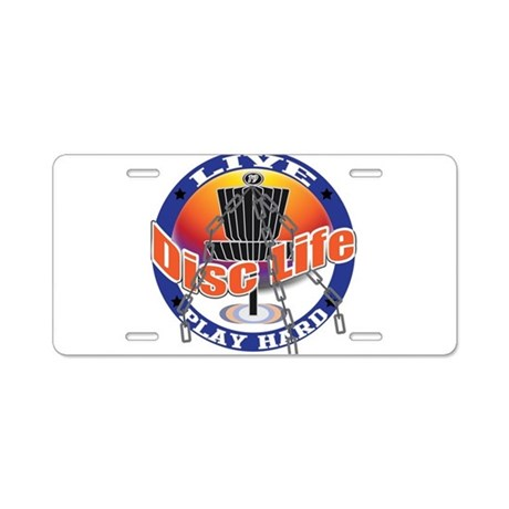 DiscLife1 Aluminum License Plate