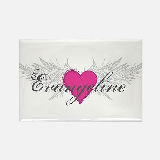 My Sweet Angel Evangeline Rectangle Magnet