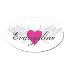 My Sweet Angel Evangeline Wall Decal